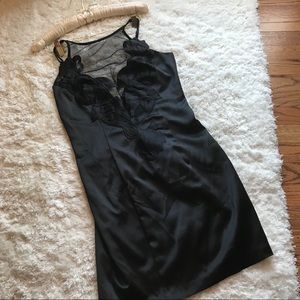 Bardot Black Slip Style Dress Size XS or 2